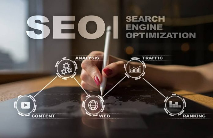 What does a SEO service include in regards to small business?